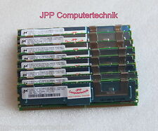 32GB 8 x 4GB PC2-5300F Ram DELL Poweredge 1950 2950 2900 6950 FB DIMM DDR2 2Rx4