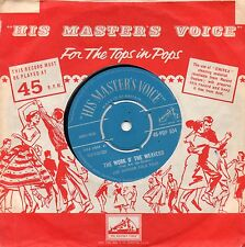JOE GORDON FOLK FOUR - THE WORK O' THE WEAVERS. (UK, 1959, HMV, POP 654)