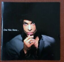 Prince, One Night Alone, tour programme book 2002