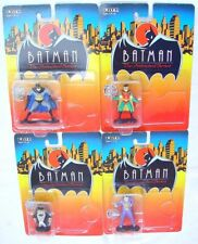 Ertl The Animated Series BATMAN & ROBIN JOKER PENGUIN Metal Figure Set MOC`93!