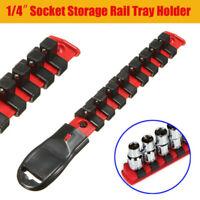 1/2 3/8 1/4 Socket Tray Rail Rack Holder Storage Organizer Shelf Stand Shelf