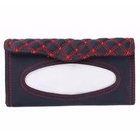 Car Sun Visor Tissue box Auto Accessories Holder Paper Napkin Clip Leather