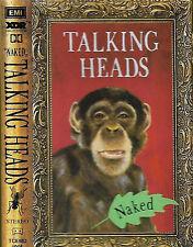 Talking Heads Naked CASSETTE ALBUM EMI TCEMD 1005 Rock New Wave