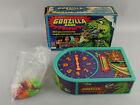 Vintage 1978 Mattel Godzilla Game Kaiju Survival Near Complete Working w/Box