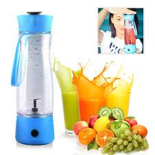 Rechargable USB Juicer Fruit Juicing Blender Juice Extractor Sports Bottle 350ML