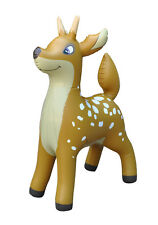 """Jet Creations Inflatable Deer Animals Party Stuffed Animal 36"""""""