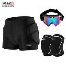 Skiing Skateboard Hip Protection Shorts Knee Pads Snowboard Goggles Protector