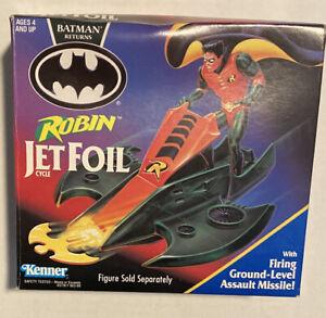 1991 Vintage Batman Returns Robin Jetfoil Cycle - B11