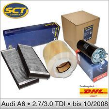 Audi A6 4F 2.7 3.0 TDI | 3-tlg Inspektionspaket Filterset Filterkit SCT & TOPRAN