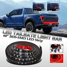 "60"" red/white LED flexible pickup rear taillight brake signal Reverse strip Bar"