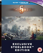 The 5 Wave Zavvi Exclusive Region Free Blu-Ray Steelbook Limited To 500 Coples
