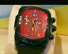 Fiber Dial(only 1 all Google) New Invicta 4997 Lupah Chronog.Curve Glass,Carbon