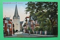 Sachsen Anhalt AK Wernigerode am Harz 1930er Westerutor Ortsansicht Gebäude