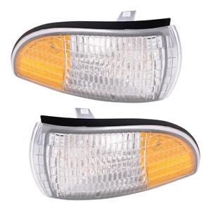 Side Markers w/Corner Lights Set fits Caprice Impala Custom Cruiser Roadmaster