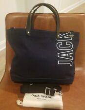 Jack Spade, Men's Industrial Canvas Logo Coal Bag, Navy, NWT $248