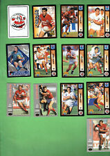 LOT OF 50 ILLAWARRA  STEELERS  RUGBY LEAGUE CARDS