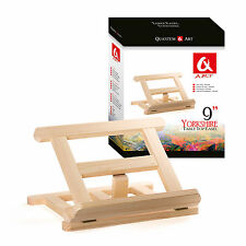"TABLE TOP 300MM 12"" DISPLAY FOLDED EASEL ARTIST ART CRAFT WOODEN WEDDING"