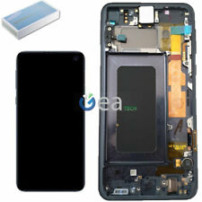 Display LCD Originale SAMSUNG Touch Screen + FRAME Per Galaxy S10e G970F Nero