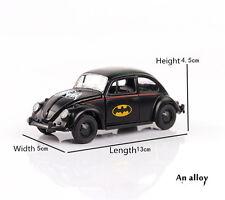 1/32 Scale Batman Diecast Black Beetle Classic Vehicles Car Toy Gift