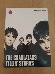 Tellin Stories The Charlatans (Piano/vocal/guitar) (Guitar Tablature) lyrics