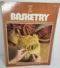 Step by Step Basketry by Nancy Gilman