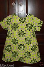 RIGHT BANK BABIES Dress Size 5 5T - REVERSIBLE - Two Dresses in One - NEW