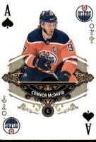 2020-21 UD O-Pee-Chee Playing Cards Aces A-SPADES Connor McDavid Edmonton Oilers