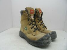 Aggressor Women's 8'' Lynx II Steel Toe Steel Plate Work Boot Wheat Size 7M
