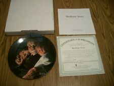 2000 Norman Rockwell Heritage Collection #24 Bedtime Story Collector Plate