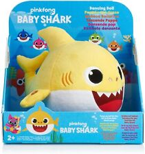 WowWee Pinkfong Baby Shark Official Dancing Singing Yellow Plush Brand New Box