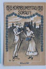 26930 AK Sorau NL Kornblumentag 18.6.1911 Künstlerkarte