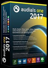 Audials One 2017 Box Version CD/DVD  MUSIK  Kostenlos und legal aus d. Internet