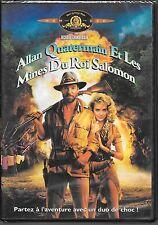 DVD ZONE 2--ALLAN QUATERMAIN ET LES MINES DU ROI SALOMON--CHAMBERLAIN/STONE