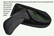 green stitch FITS MERCEDES CLK W209 GEAR KNOB GAITER ONLY 2002-2009 MANUAL