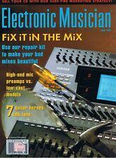 David Torn Lyle Workman LEXICON MPX 1 & ART Pro VLA Rev 1997 Electronic Musician