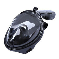 Swimming Full Face Anti-Fog Mask Surface Diving Snorkel Scuba W/breathing tube