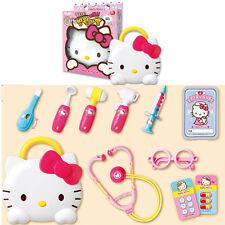 Hello Kitty Hospital Play Set Doctor Nurse Clinic Role Kit Kids Child Girls Gift
