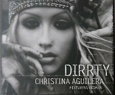 Christina Aguilera Redman Dirrty Aust. CD Single Rare 2003 I Will Be Stripped