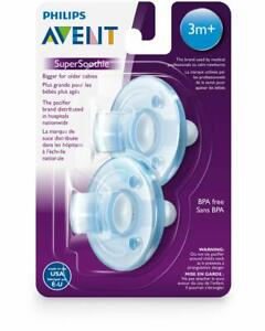 Phillips Avent Soothie Pacifiers 3m+ Blue SCF192/06