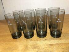 Vintage Mopar Plymouth Logo Glass Tumbler Beer Drinking Glasses