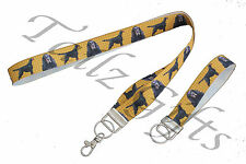More details for gordon setter (b) breed of dog matching lanyard | keyring key ring | bookmark