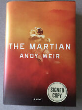 New ListingThe Martian Autographed by Andy Weir Hardcover 1st Edition Dj Brand New Book