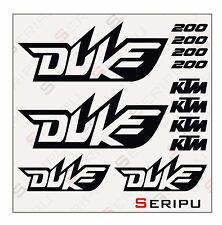 X12 ADHESIVOS KIT KTM DUKE 690-200-125 RECORTE ENDURO STICKER DECAL MOTO