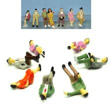 Figurines Sitting 1:3 2 Gauge 1 Passenger And Track Stand Viewers 7 Piece F36a