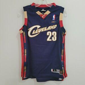 VTG Adidas NBA Cleveland Cavaliers LeBron James 23 Alternate Jersey Youth L Sewn