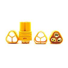 1Paar 3 Pol Stecker Buchse 3 polig für Motor ESC MT 60 3.5mm Hochstromstecker