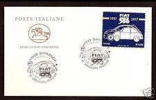 Italia : Fiat 500 -  FDC - 1° Giorno di emissione - Poste Italiane - Garlenda