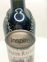 WINE BOTTLE CHARMS, SHARE MEMORIES AND INSPIRE PEWTER BY BILTMORE INSPIRATIONS