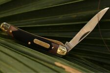 """Mighty Mite Old Timer Knife Stainless Steel Blade & Delrin Handle 2 ¾"""" Closed"""