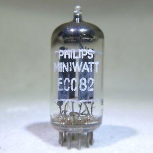 Philips Miniwatt 12AU7/ECC82 Long Plate Foil D-Getter Holland 1957 Strong
